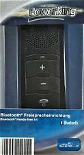 POWERKING Bluetooth kabellos Freisprecheinrichtung Freisprechanlage neu ovp.