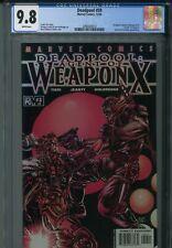 Deadpool 59 CGC 9.8 Agent of Weapon X 3 Uncanny X-Force Cable X-Men New Mutants