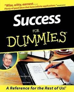 Success For Dummies - Paperback By Ziglar, Zig - GOOD
