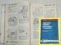 Reparaturleitfaden VW Bus T3 Werkstatthandbuch 5Gang Getriebe 094 Allrad syncro