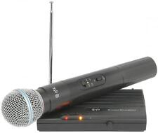 QTX 171.801 VH45B Handheld Compact VHF Microphone Wireless System 50m Range New