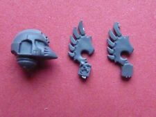 Space Marine Dark Angels RAVENWING Chevaliers MK 6 Casque avec ailes-bits 40K