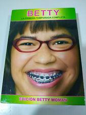 BETTY LA FEA UGLY BETTY TEMPORADA 1 COMPLETA 6 DVD EDICION BETTY WOMAN