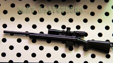 12cm Weapon M700 SNIPER Rifle full Metal Black keychain  Battlefield small 1/6