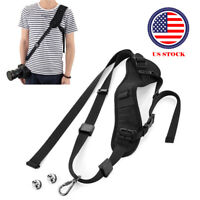 Shoulder Sling Belt Neck Strap for Camera SLR/DSLR Nikon Canon Sony