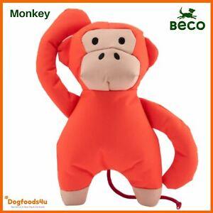 Beco Recycled Soft Monkey Dog Toy - Reward treat