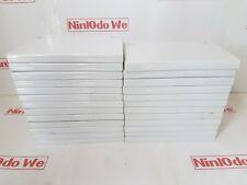 25 x USED Genuine Nintendo Wii Empty Game cases (Grade B - C)