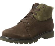 Cat Footwear Caterpillar Women's Fret Fur WP Boots Brown Size UK 6