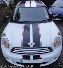 "All Year /Model Mini Cooper 3 COLOR 10"" Rally stripes Stripe Graphics Countryman"