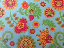 Michael Miller Ooh La La Bouquet de Fleurs Bright Floral Cotton Quilting Fabric