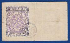 Austria Hungary, 25 Kronen / Korona 1918, CITTA DI FIUME Consiglio Nazionale !