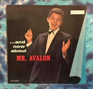 Frankie Avalon LP And Now About Mr. Avalon CHANCELLOR Original (1961) Mono