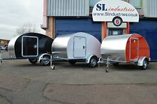 Teardrop Mini Caravans / Trailers (with IVA certificate)