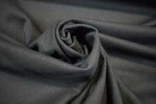 Dark Grey Moisture Wicking Sport Wear Performance Knit Pique Stretch Fabric 61