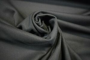 "Dark Grey Moisture Wicking Sport Wear Performance Knit Pique Stretch Fabric 61""W"