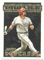 1994 Topps Black Gold John Kruk 37 Phila Phillies Baseball(BUY 10=SHIP FREE)