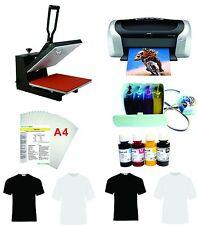 15x15  Heat Press Machine Epson Printer C88 CISS KIT