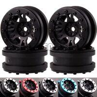 "1068 RC 1/10 Rock Crawler 1.9"" Nylon Wheel Rim & Aluminum Beadlock TRX4 SCX10"