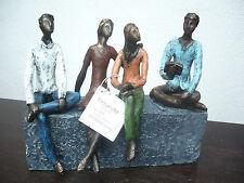 Casablanca Skulptur Network Bronce/bunt graue Base