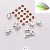 Aventik 5PCS//Pack Lures Fly Tying Sculpin Heads Tungsten Alloy Heavy Pike Bass