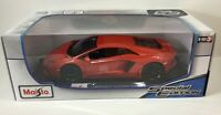 Maisto 1:18 Red Lamborghini Aventador Coupe Diecast Model Racing Car Vehicle NIB