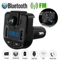 Bluetooth Car Set FM Transmitter Radio MP3 Player USB Ladegerät Kabellos