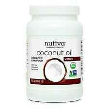 Nutiva Organic Virgin Coconut Oil, 15 Ounce New