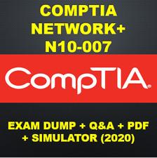 CompTIA Network+ N10-007 Exam Q&A PDF & SIM (2020)