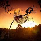 Fairies And Dandelions Dance Together Statue Garden Ornament Sculpture Decor US