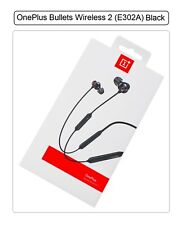 Genuine OnePlus Bullets Wireless 2 E302A Bluetooth For OnePlus 3 2 One 5T 6T 7T