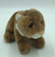 Vintage Gund World Wildlife Fund BABY TIGER Plush Stuffed Animal P