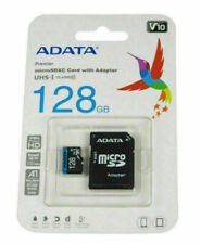 ADATA Premier 128GB Class 10 micro SD Memory Card Adapter Cell Phone Tablet