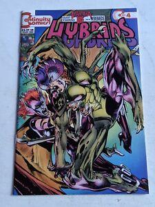 Hybrids Origins #4 December 1993 Continuity Comics