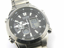 Gents Citizen Eco-Drive U200 AnalogDigital Multifunction Watch - 100m