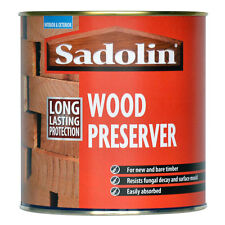 Sadolin Wood Preserver (Solvent Based)  Clear  2.5LT Can  ( New Stock)