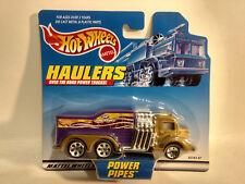 Haulers Over The Road Potenza Tubi Camion in 1:64 Scala Diecast da Hot Wheels