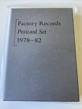 More details for factory records 1978 - 82 boxed postcard set - rare - sold out