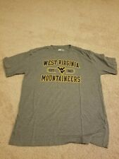 West Virginia Mountaineers Russell Large T-Shirt 65/35 blend