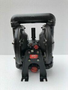"""INGERSOLL RAND ARO 666100-362-C Luft Doppel Membranpumpe 1 """" Aluminium"""