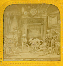More details for diableries - les cuisines de satan -  french tissue stereoview