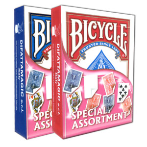 Genuine Bicycle Cards - Special Assortment - Gaff / Fake Cards