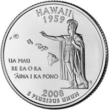 2008 P Hawaii State Quarter BU