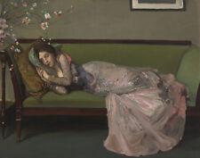 Lavery John Sir The Green Sofa Canvas 16 x 20    #3445