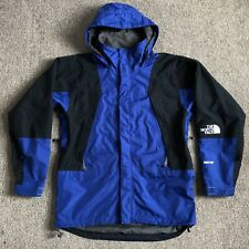 The North Face Mens Vintage 90s Mountain Light Jacket Gore Tex Shell Blue Small