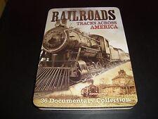 Railroads: Tracks Across America [2 Discs] [Tin Case] DVD More Than 12 Hours