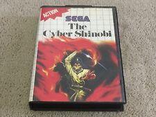THE CYBER SHINOBI - SEGA MASTER SYSTEM - FREE POSTAGE
