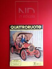 ORIGINALE QUATTRORUOTE 13 FEBBRAIO 1957 - FIAT 1100/103 E TV  ALFA ROMEO 8C