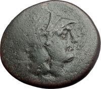 LYSIMACHOS Thrace King 305BC Lampsakos Ancient Greek Coin ATHENA TROPHY i64431