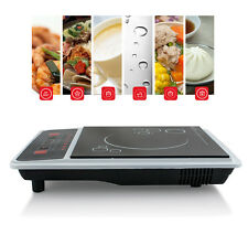 1300W Portable Induction Cooktop Countertop Single Cooker Burner Stove Hot Plate