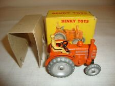 DINKY 301 FIELD MARSHALL TRACTOR - EXCELLENT in original BOX